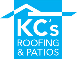 KC's Roofing & Patios Logo